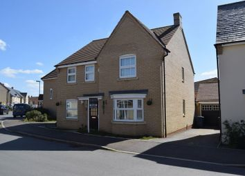 Thumbnail 4 bedroom detached house to rent in Lannesbury Crescent, St. Neots