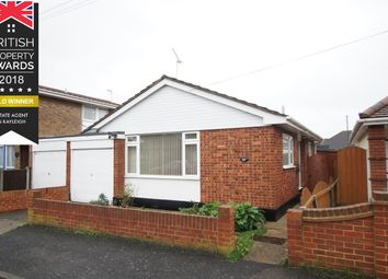 Thumbnail 1 bed detached bungalow for sale in Maurice Road, Canvey Island