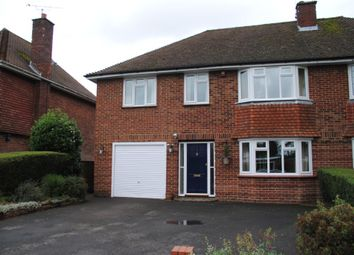 Thumbnail 4 bed semi-detached house to rent in Ashley Drive, Penn, High Wycombe