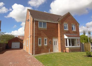 Thumbnail 4 bed property for sale in Finch-Hatton Close, Ruskington, Sleaford