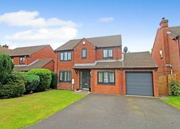 Thumbnail 4 bed detached house for sale in Shaw Croft, Sherrifhales, Shifnal