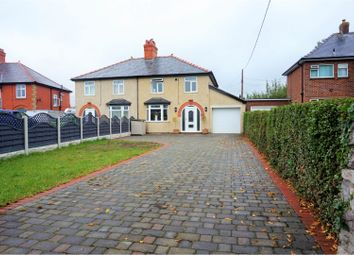 Thumbnail 3 bed semi-detached house for sale in Rhyl Road, Denbigh