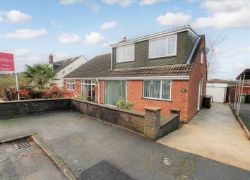 Thumbnail 3 bedroom semi-detached bungalow for sale in Catterick Drive, Little Lever, Bolton
