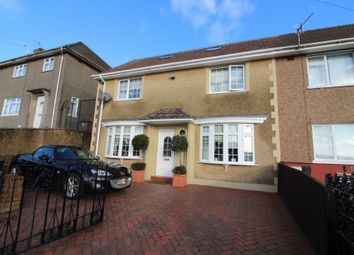 Thumbnail 3 bed semi-detached house for sale in Manor Road, Pontllanfraith, Blackwood