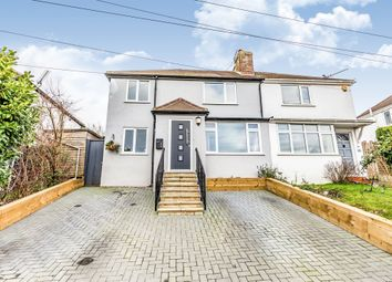 Thumbnail 3 bed semi-detached house for sale in Highfield Crescent, Brighton