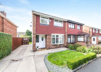 Thumbnail 3 bedroom semi-detached house for sale in Brindle Close, Marton-In-Cleveland, Middlesbrough