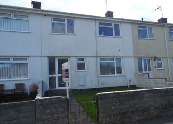 Thumbnail 3 bed terraced house to rent in Wimbourne Crescent, Pencoed