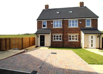 Thumbnail 4 bed semi-detached house for sale in Thill Stone Mews, Mill Lane, Whitburn, Sunderland