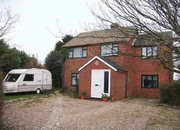 Thumbnail 4 bedroom detached house for sale in Thoresby Road, North Cotes, Grimsby
