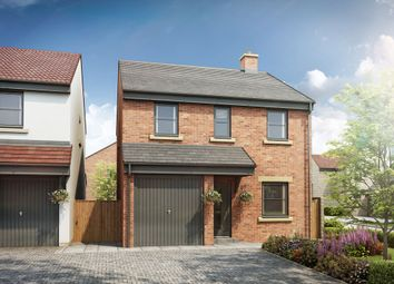 Thumbnail 4 bed detached house for sale in Beech Crescent, Heighington Village, Newton Aycliffe