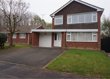 Thumbnail 4 bed detached house for sale in Newquay Road, Walsall