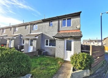 Thumbnail 3 bed end terrace house for sale in Foxhole, St Austell, Cornwall