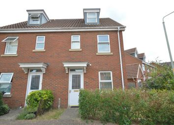 Thumbnail 3 bed semi-detached house for sale in Caddow Road, Norwich