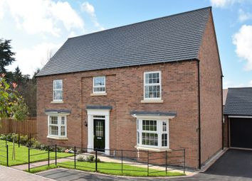 "Thumbnail 5 bed detached house for sale in ""Henley"" at Shrewsbury Court, Upwoods Road, Doveridge, Ashbourne"