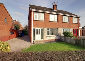 Thumbnail 3 bedroom semi-detached house for sale in Moray Crescent, Newtownards