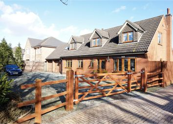 Thumbnail 3 bed detached house for sale in Station Road, Bagworth
