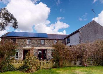 Thumbnail 5 bed detached house for sale in Bryngwran, Holyhead
