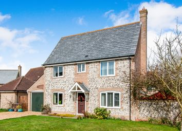 Thumbnail 3 bed detached house for sale in Trent Vc Close, Methwold, Thetford