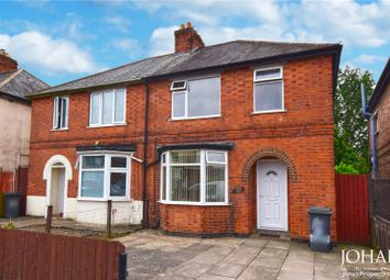 Thumbnail 3 bed semi-detached house to rent in Evesham Road, Leicester