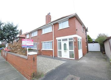 Thumbnail 3 bed semi-detached house for sale in Harwood Avenue, Lytham St Annes, Lancashire
