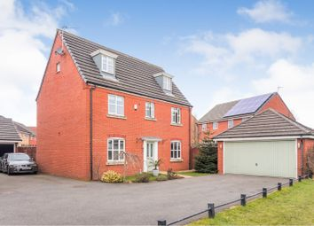 Thumbnail 5 bed detached house for sale in Holcroft Drive, Wigan