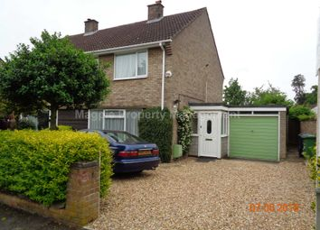 Thumbnail 3 bedroom semi-detached house to rent in Orchard Road, Eaton Ford, St. Neots