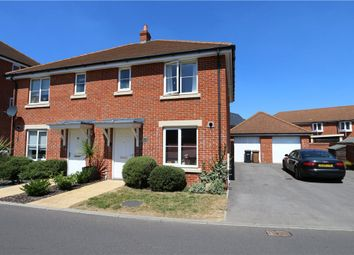 Thumbnail 3 bed semi-detached house for sale in Withers Road, Romsey, Hampshire