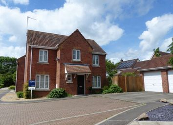 Thumbnail 4 bedroom detached house for sale in Morning Star Road, Daventry