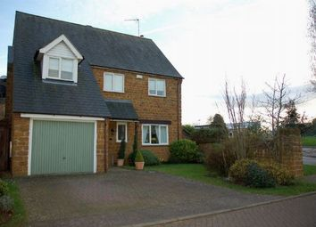 Thumbnail 4 bed detached house for sale in The Paddocks, Moulton, Northampton