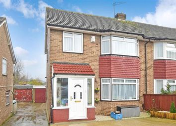 Thumbnail 3 bed semi-detached house for sale in Benenden Road, Wainscott, Rochester, Kent