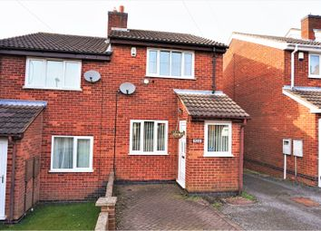 Thumbnail 2 bed semi-detached house for sale in Windmill Street, Swadlincote