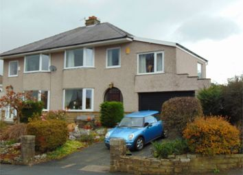 Thumbnail 4 bed semi-detached house for sale in Kibble Grove, Brierfield, Nelson, Lancashire