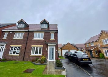 Wakenshaw Drive, Newton Aycliffe DL5. 4 bed semi-detached house