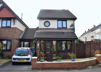 Thumbnail 2 bed link-detached house for sale in Clos Burlais, Swansea