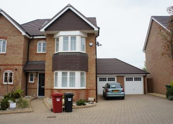 Thumbnail 3 bed semi-detached house for sale in Litteen Close, Kings Reach, Slough, Langley