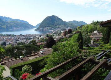 Thumbnail 5 bed villa for sale in Lugano, Lake Lugano, Switzerland