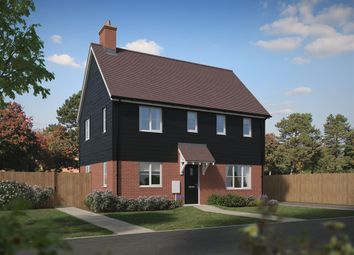 "Thumbnail 3 bed detached house for sale in ""The Clayton Corner"" at Reigate Road, Hookwood, Horley"