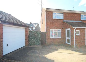 Thumbnail 2 bed semi-detached house to rent in Blaydon Road, Luton