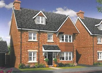 Thumbnail 4 bed detached house for sale in Warbler Road, Farnborough