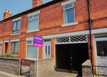 3 bed terraced house for sale in Montague Road, Hucknall NG15