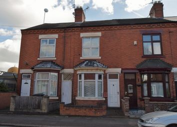 Thumbnail 3 bed terraced house for sale in Bridge Road, Off Uppingham Road, Leicester