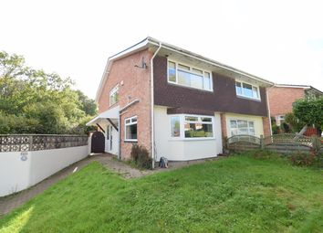 Thumbnail 3 bed semi-detached house for sale in Brunel Road, Fairwater, Cwmbran