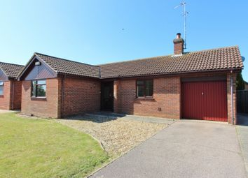 Thumbnail 2 bedroom detached bungalow for sale in Hobart Way, Oulton, Lowestoft
