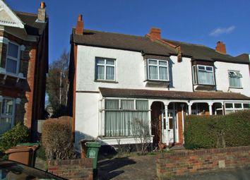 Thumbnail 4 bed semi-detached house for sale in Park Road, Wallington, Surrey