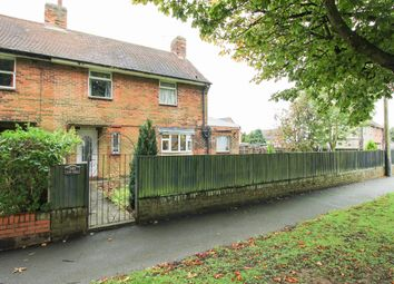 Thumbnail 3 bed semi-detached house for sale in The Hill, Glapwell, Chesterfield