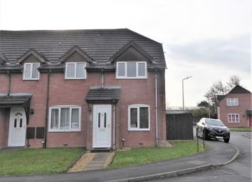 Thumbnail 2 bed end terrace house to rent in Haywain Court, Bridgend, Bridgend County.