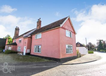 Thumbnail 2 bed cottage for sale in Mill Road, Hempnall, Norwich