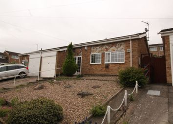 Thumbnail 2 bed bungalow for sale in Jessop Close, Leicester