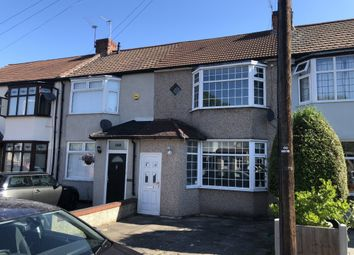 Thumbnail 2 bed terraced house to rent in Harwood Avenue, Hornchurch