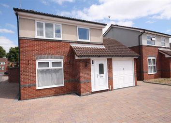 Thumbnail 3 bed detached house for sale in Whinney Moor Close, Retford, Nottinghamshire